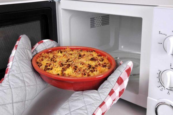 Приготовление блюд в микроволновке
