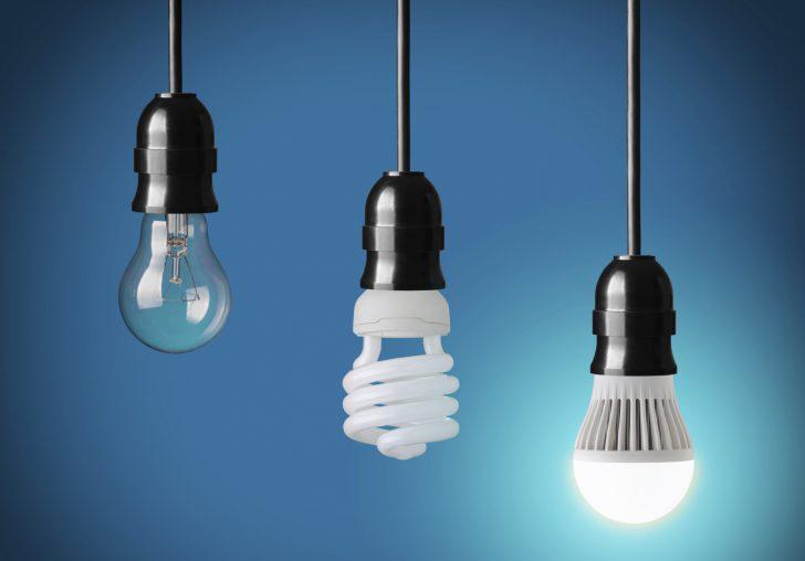 Регулировка яркости лампочек