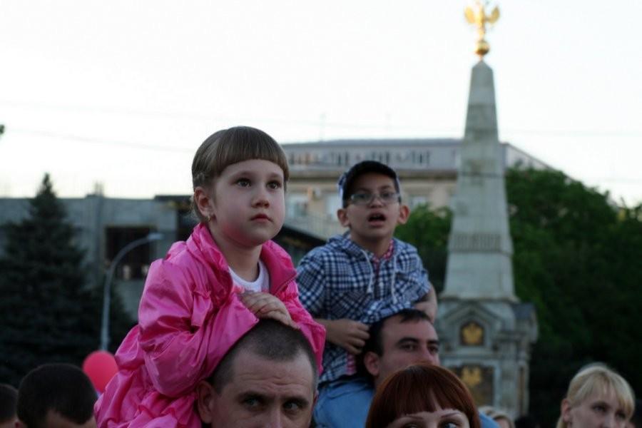 Открытие фонтанов в Краснодаре