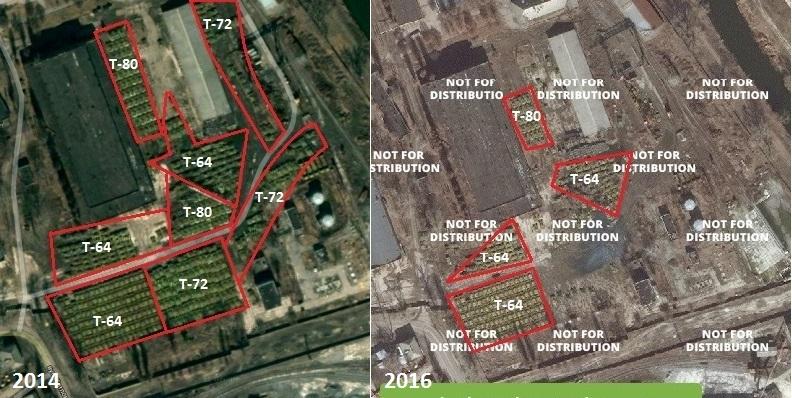 Наблюдатели ОБСЕ зафиксировали около 50 танков террористов вблизи оккупированной Мануйловки - Цензор.НЕТ 7724