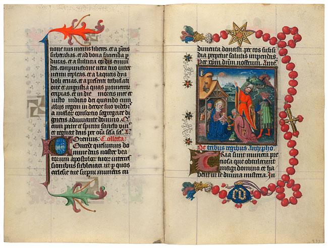 Morgan Library Cleves Rosary