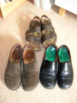 Sensible shoes!