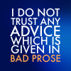 Bad prose
