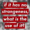 Strangeness