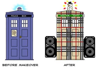 The Chav-Tastic TARDIS Makeover