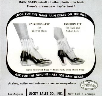 Rain Dears rain boots are best. It is a fact.
