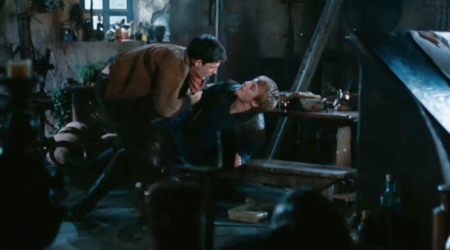Arthur tries to bring Merlin down to his level.