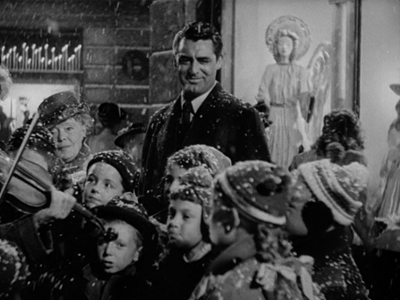 Cary Grant and some seasonal children