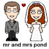 Mr and Mrs Pond
