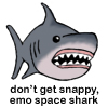 Emo space shark