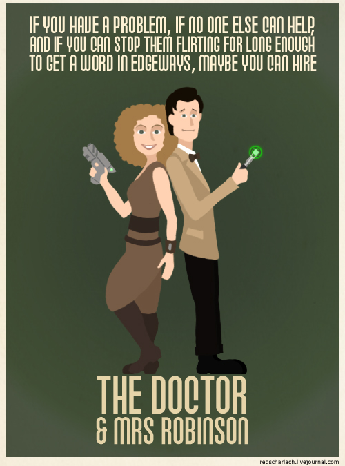 Codenames: the Doctor and Mrs Robinson
