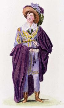Eliza Vestris, in around 1835