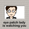 Eye Patch Lady