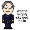 Douglas is a mighty sky god