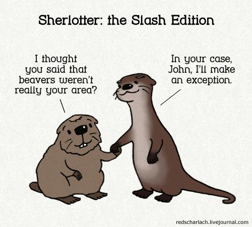 Sherlotter: The Slash Edition