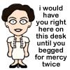 Irene likes desks