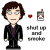 Sherlock's cigarette love