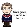 Martin Freeman wins