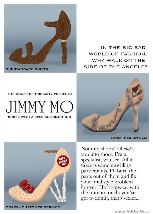 Jimmy Mo: shoes with a special something!