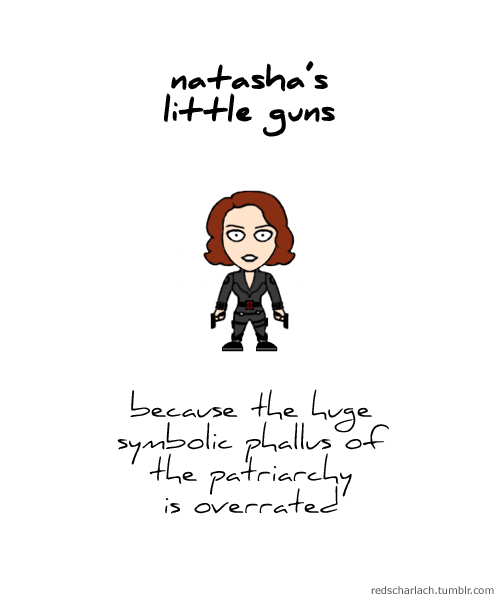 Natasha's little guns