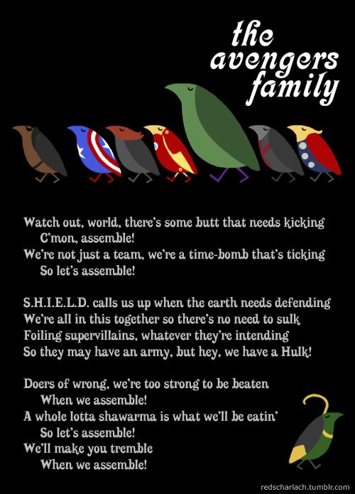The Avengers Family!