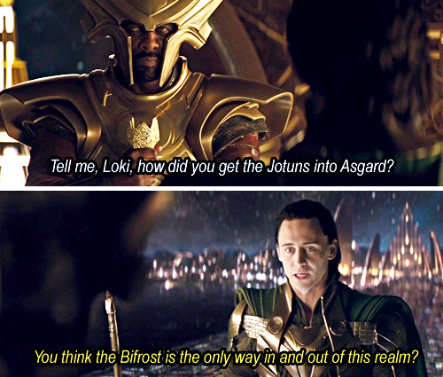Heimdall and Loki are confused...