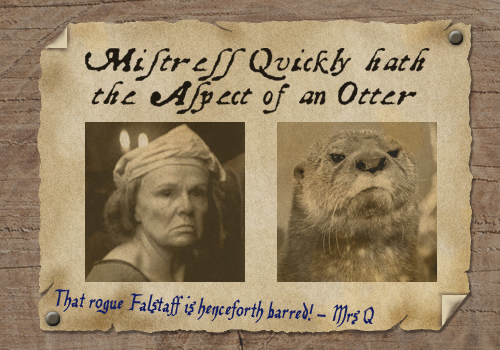 Celebrities that look like otters: the 15th century edition