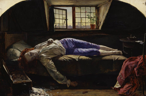 The Death of Chatterton, by Henry Wallis