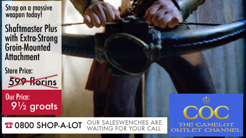 Another special offer from the Camelot Shopping Channel!