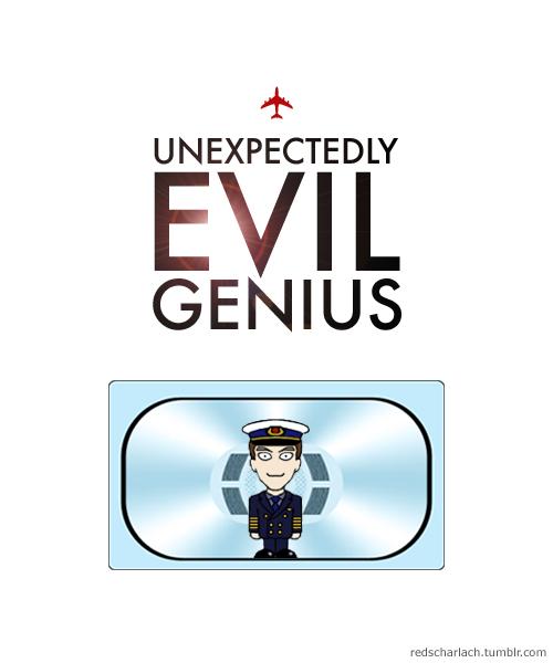 Martin Crieff is an unexpectedly evil genius