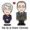 Carolyn knows a man