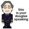 Douglas speaking