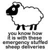 Emergency sheep