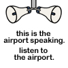 This is the airport