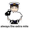 Always the extra mile