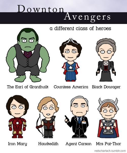 Downton Avengers!