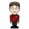 Chekov in red