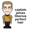 Captain James Tiberius Perfect Hair
