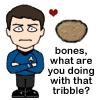 Bones and a tribble