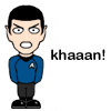 Spock gets mad
