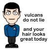 Vulcans do not lie