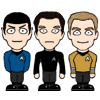Kirk and Spock and John