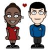 Spock/Uhura