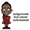 Uhura is classy