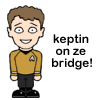 Chekov on the bridge