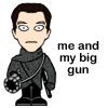 John with a gun