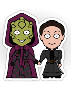 Vastra and Jenny sticker