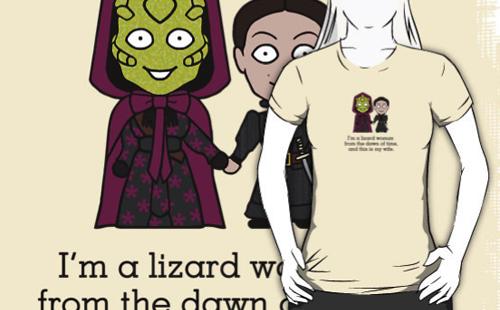 Vastra and Jenny mini people shirt