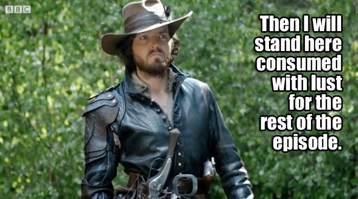 What Athos was really thinking