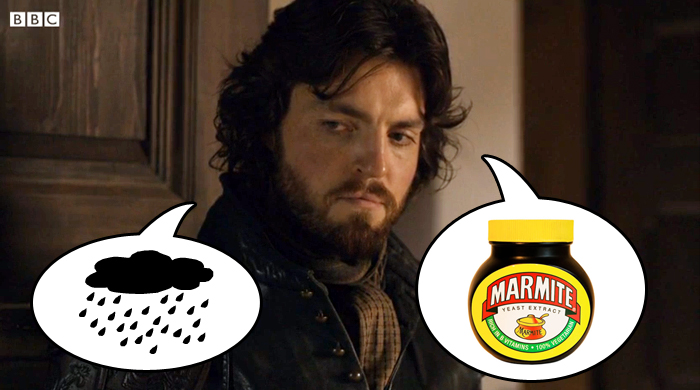Athos thinks of England
